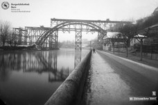 Kirchenfeldbrücke-Bauarbeit