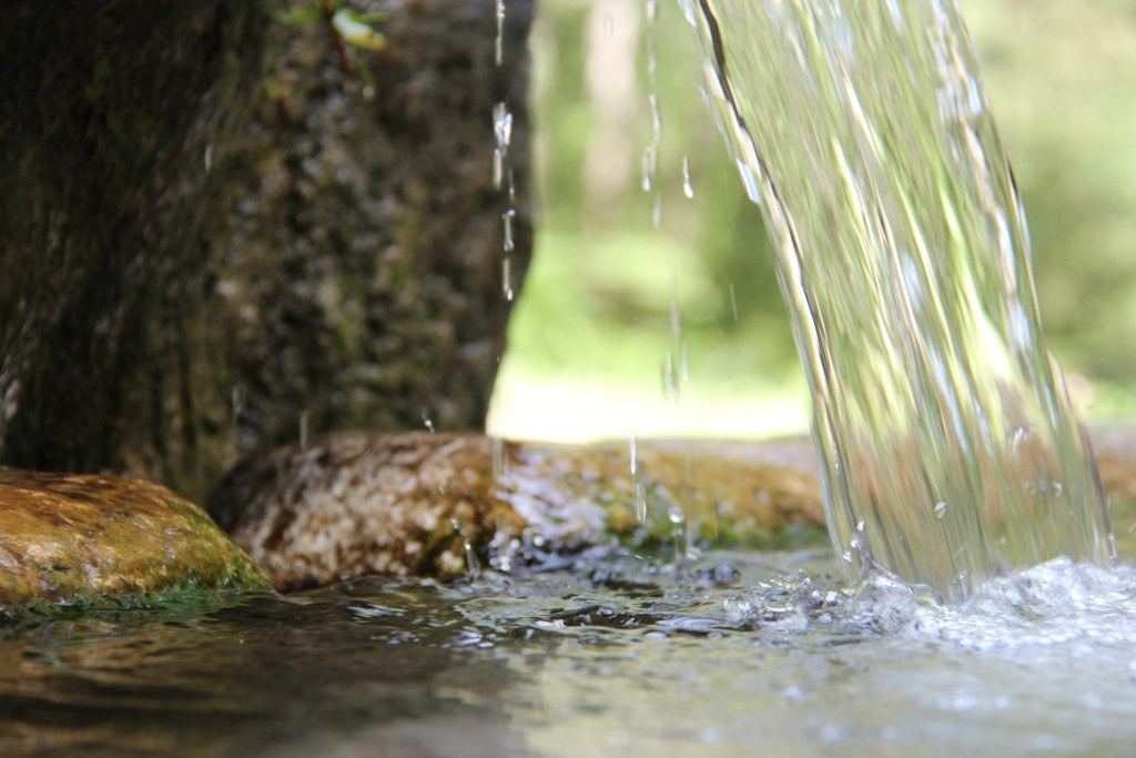 Glasbrunnen