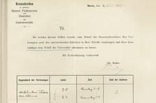 Hörerverzeichnis der Universität Bern