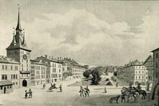 Der Bärengraben am Bärenplatz von 1513-1763