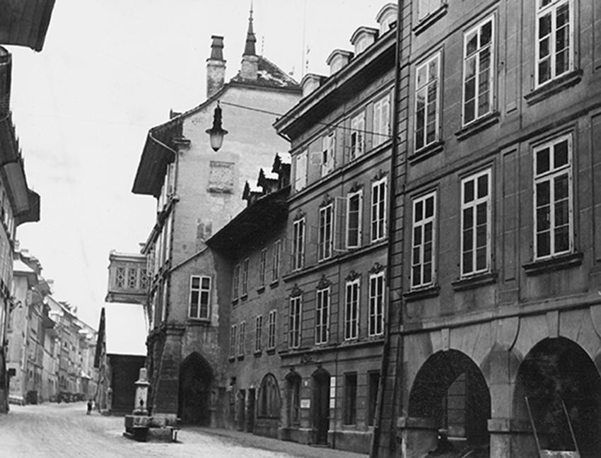 Postgassbrunnen vor 1992
