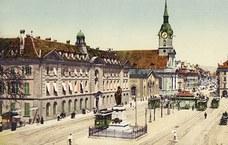 Burgerspital, Bubenbergplatz vor 1930
