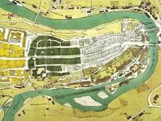 Stadtplan 1861