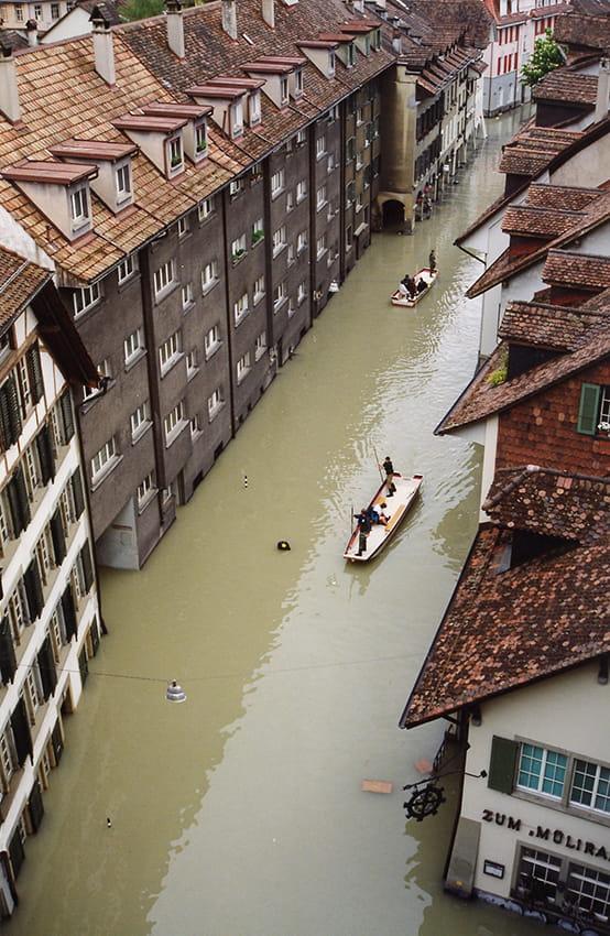 Überschwemmung Matte 1999