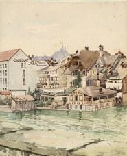 Schokoladefabrik Lindt um 1910